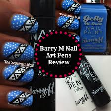 the sequined nail barry m nail art pens review