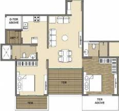 1000 Sq Ft Apartment by Kolte Patil Three Jewels In Kondhwa Pune Flats For Sale In