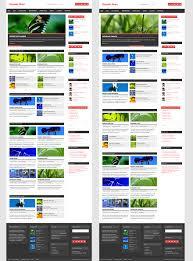 colors home page dynamic news u2013 themezee