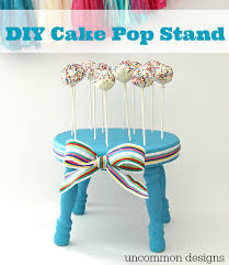 cake pop stands diy cake pop stand uncommon designs