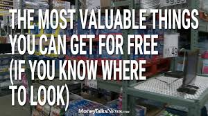 the most valuable things you can get free