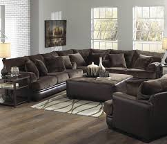 brown sofa set barkley large l shaped sectional sofa with right side loveseat by
