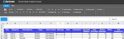 Social Media Analytics Spreadsheet by How To Set Up Your Social Media Analytics Excel Spreadsheets