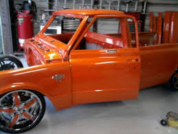 pics of orange trucks the 1947 present chevrolet u0026 gmc truck