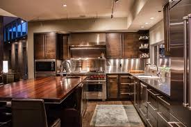 kitchen island cherry wood 50 gorgeous kitchen designs with islands designing idea
