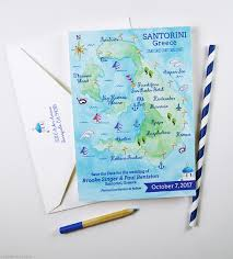Save The Date Destination Wedding Watercolor Save The Dates Mospens Studio