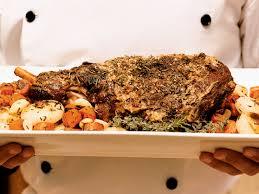 roast leg of lamb with dried cherry sauce recipe michael