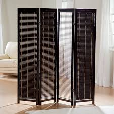 Living Room Dividers by Tranquility Wooden Shutter Room Divider Hayneedle