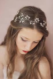 hair attached headbands uk best 25 floral headband wedding ideas on pinterest bridal hair