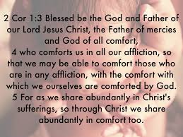 May The God Of All Comfort Cor By Chris Santos