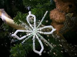a savvy craft pipe cleaner snowflakes crafts heraldextra