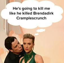 Cumberbatch Meme - john travolta and benedict cumberbatch meme from 2015 oscars