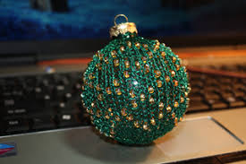 ravelry leisure arts 4595 12 exquisite beaded ornaments to knit