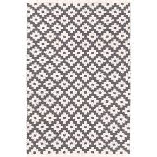 Grey And White Outdoor Rug Dash And Albert Rugs Samode Hand Woven Grey Indoor Outdoor Area
