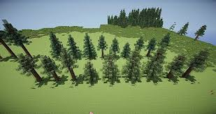 custom tree pack vol 1 boreal forest taiga minecraft project