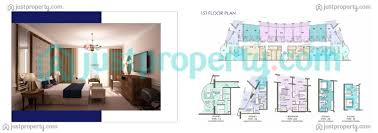 Palm Jumeirah Floor Plans by Dukes Oceana Residences Floor Plans Justproperty Com