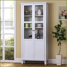 white display cabinet with glass doors 40 with white display
