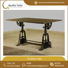 Drafting Table Wooden Best Quality Wooden Industrial Drafting Table For Bulk Purchase