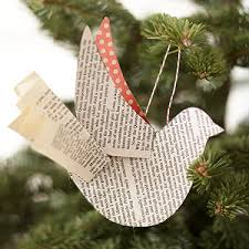 beautiful handmade bird ornaments from better homes and gardens