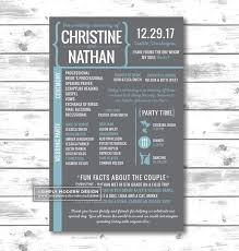wedding program poster 35 best nathan and ariel wedding program ideas images on