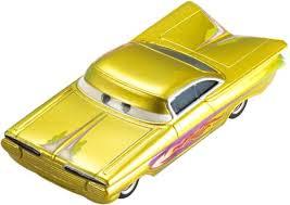 cars characters yellow amazon com cars ramone yellow toys games
