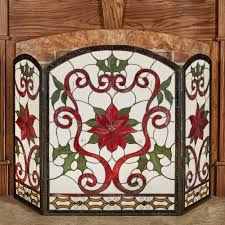 celyn decorative fireplace screen