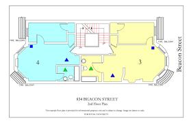 Floor Plan To Scale by 834 Beacon Street Housing Boston University