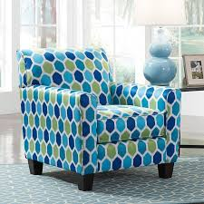 Turquoise Accent Chair Ayanna Nuvella Turquoise Accent Chair Accent Chairs Living