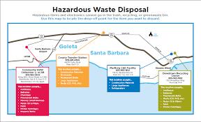 santa barbara hazardous waste