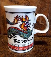 Dragon Coffee Cup Dunoon Coffee Mug Years Of The Dragon Ming Shu Chinese Astrology