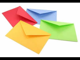 how to make envelopes how to make an envelope super easy youtube