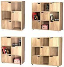 Wooden Bedside Bookcase Shelving Display Bookcase Cupboard Ebay