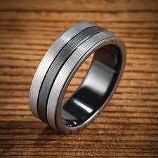 jewelry rings mens images Black zirconium wedding bands wedding rings men 39 s rings by jpg