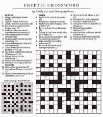 national post cryptic crossword forum saturday november 22 2014