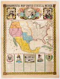Map Of The United States And Mexico by Exploring The Archives With High Students