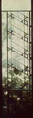 the leaded glass windows of frank lloyd wright