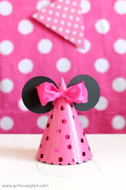 minnie mouse party minnie mouse party favors girl glam