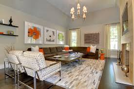 Attractive Large Family Room Decorating Ideas  Luxury Family - Large family room design