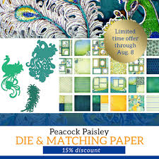 733 Best Chalky Finish Images by Special Announcement Peacock Paisley Die Is Now Available