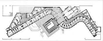 alvar aalto baker house 1947 49 plan student domrmitory