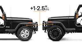 jeep 2 5 engine 1987 1995 jeep wrangler lift kits extremeterrain free shipping