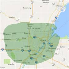 Toledo Map Service Area Of Pine River Deck And Fence Llc