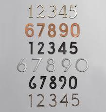 pin mount metal house numbers rejuvenation