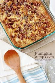 check out pumpkin dump cake it u0027s so easy to make pumpkin dump