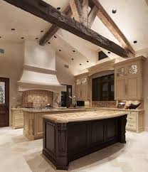 style tuscan kitchen design ideas with double islands kitchen