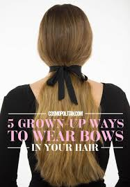 hair bow with hair 5 gorgeous ways to wear bows in your hair