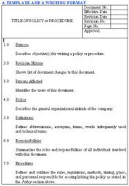 policies and procedures the full wiki