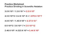 multiplying and dividing in scientific notation ppt download