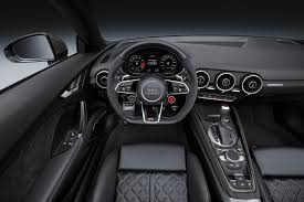 audi tt rs manual 2017 audi tt rs coupe and roadster debut with 400 hp no manual