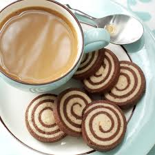 chocolate nut pinwheel cookies recipe taste of home